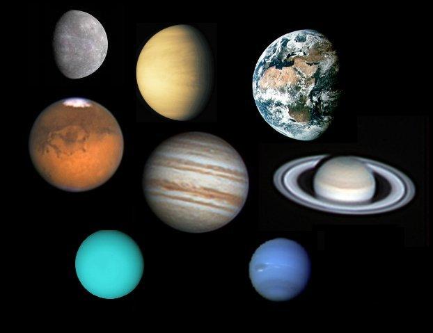Hoe komt een planeet aan zijn kleur en waarom zijn alle planeten anders van kleur ik heb een - Kleur grijze ruimte ...